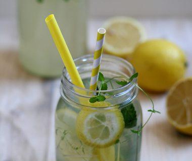 Recept zelfgemaakte citroenlimonade