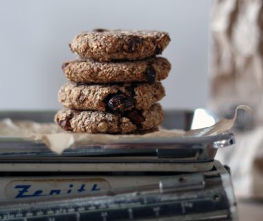 banana oat cookie
