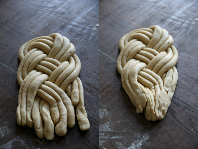 hoe knoop je een winston knoop vlecht brood