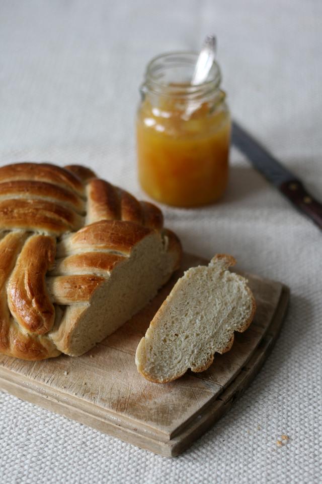winston vlechtbrood met pruimenjam