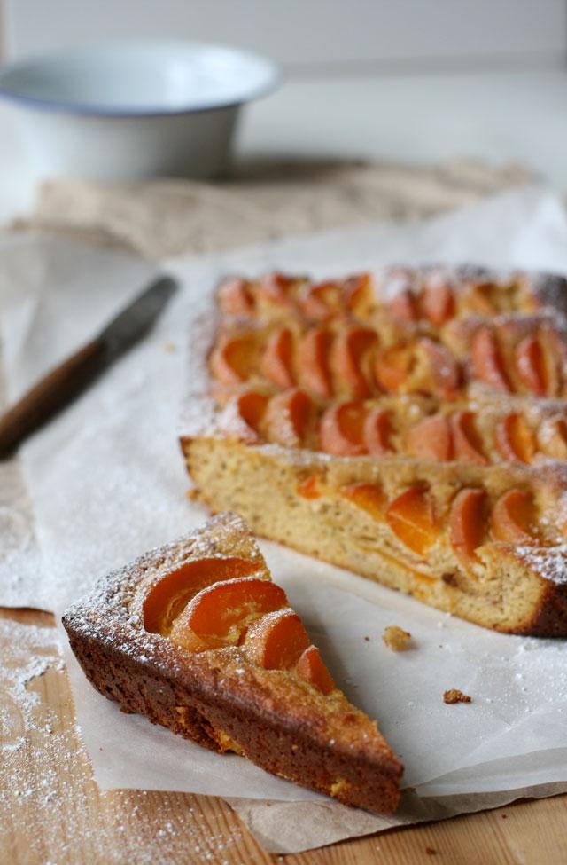torta di albicocche / apricot cake recipe