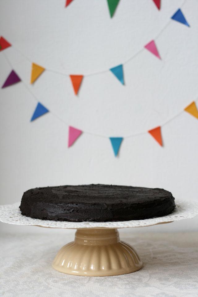 Best chocolate cake ever recipe from Roald Dahl