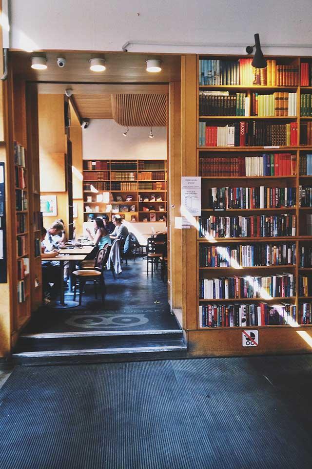 Paludan Bogcafé Kopenhagen