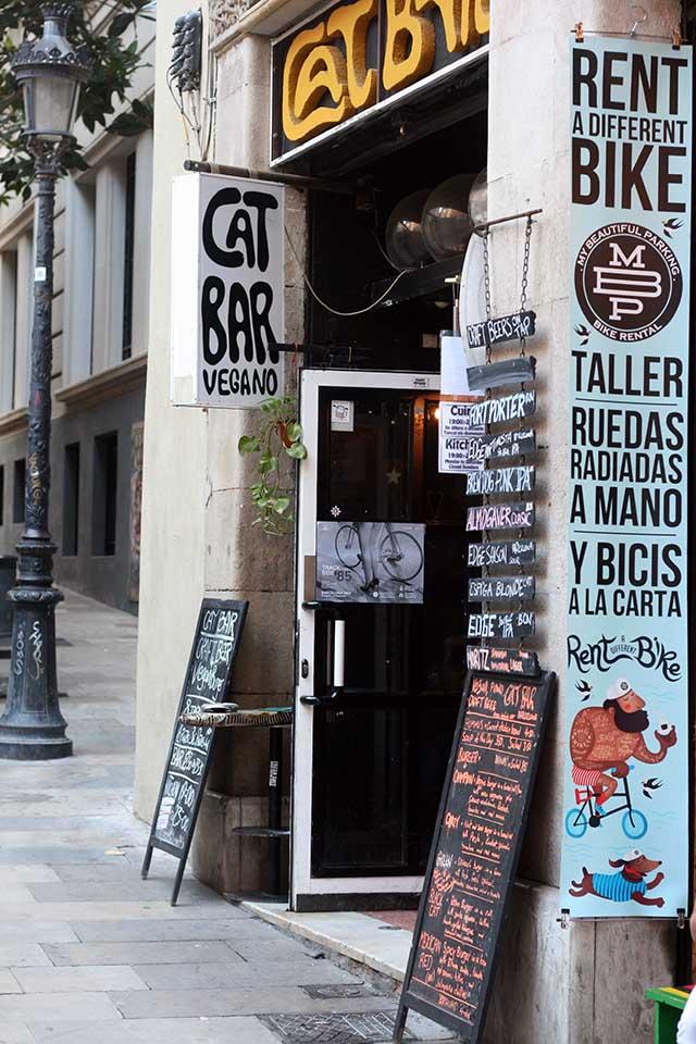 Vegan restaurant Catbar Barcelona
