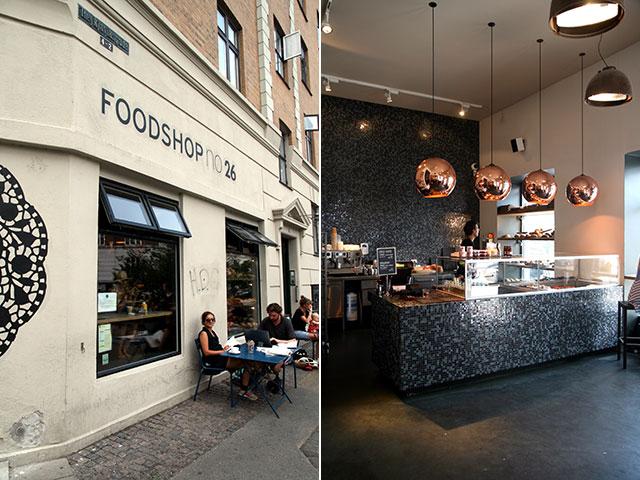Foodshop no. 26 Kopenhagen