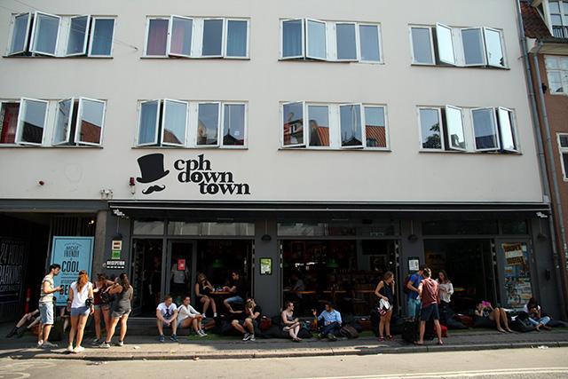 Downtown Kopenhagen hostel midden in het centrum van Kopenhagen