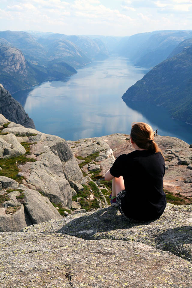 preikestolen Noorwegen