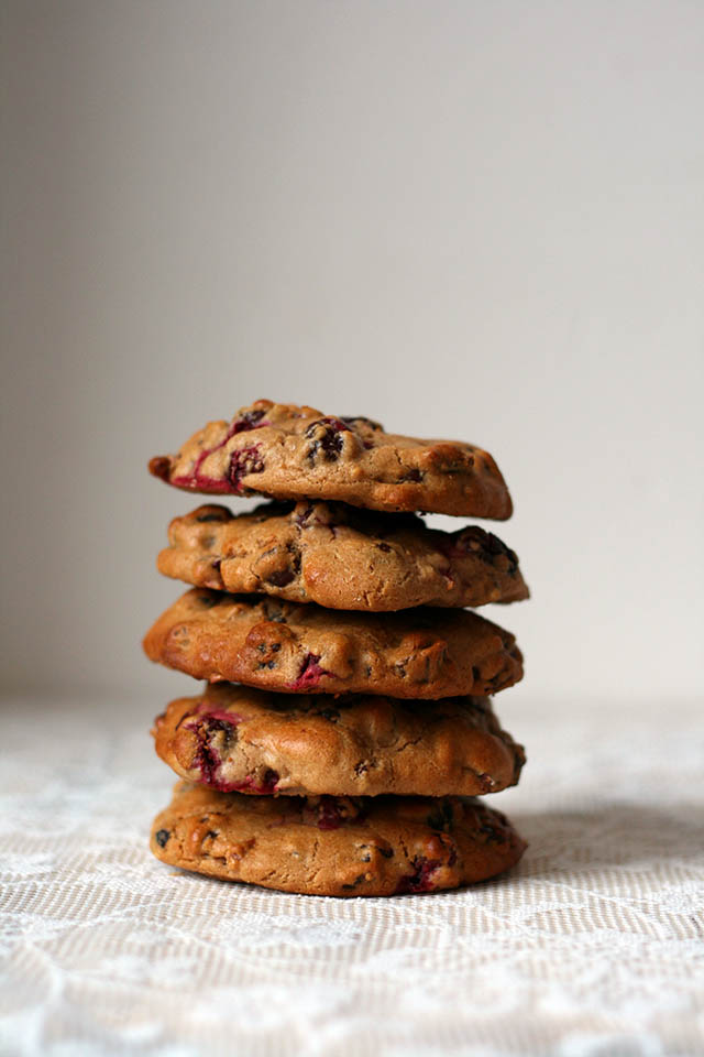 Cranberry koeken met dadels