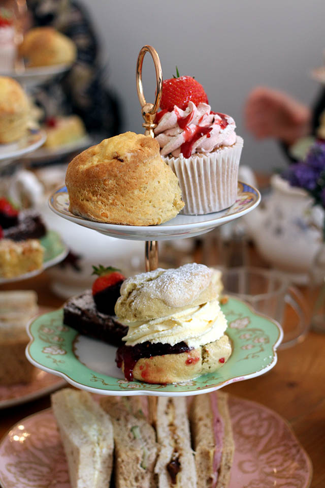 The Great British Bakery - high tea Newcastle