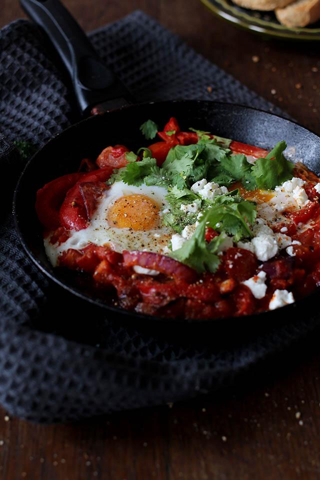 Snel en makkelijk shakshuka recept