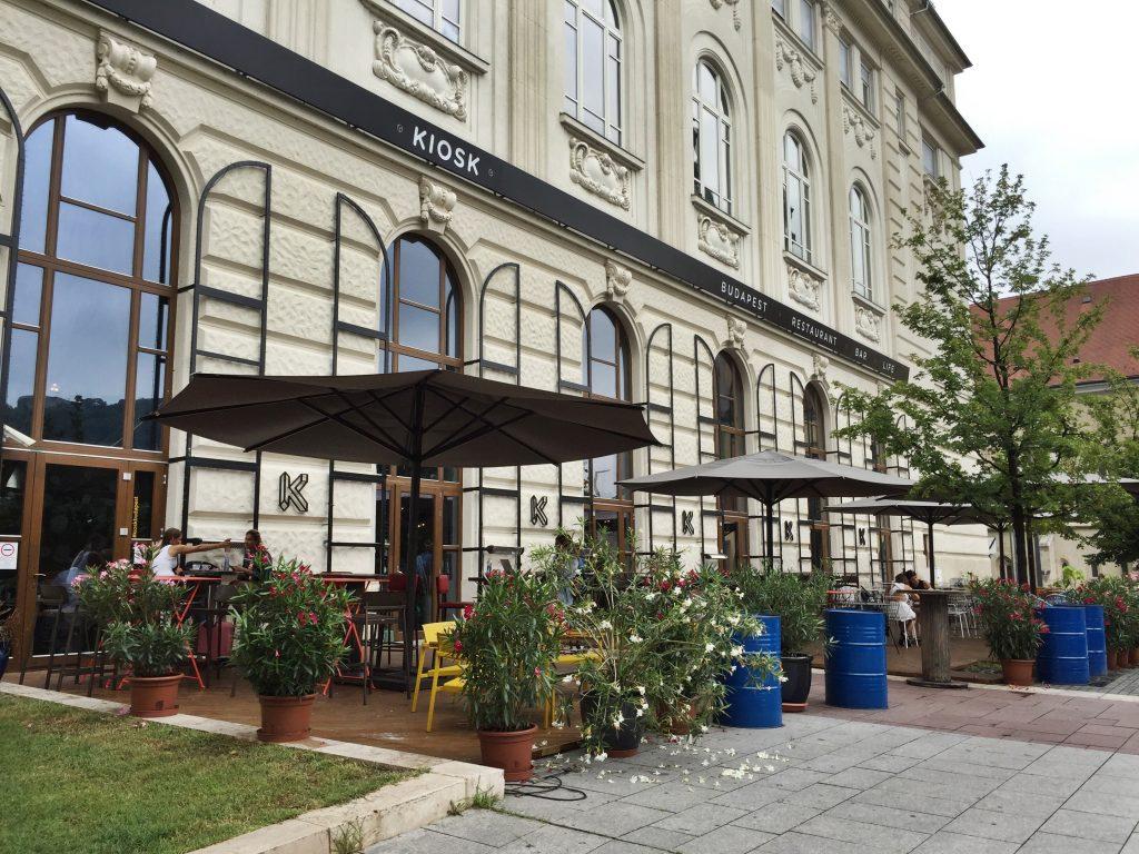 Hotspots Boedapest : KIOSK