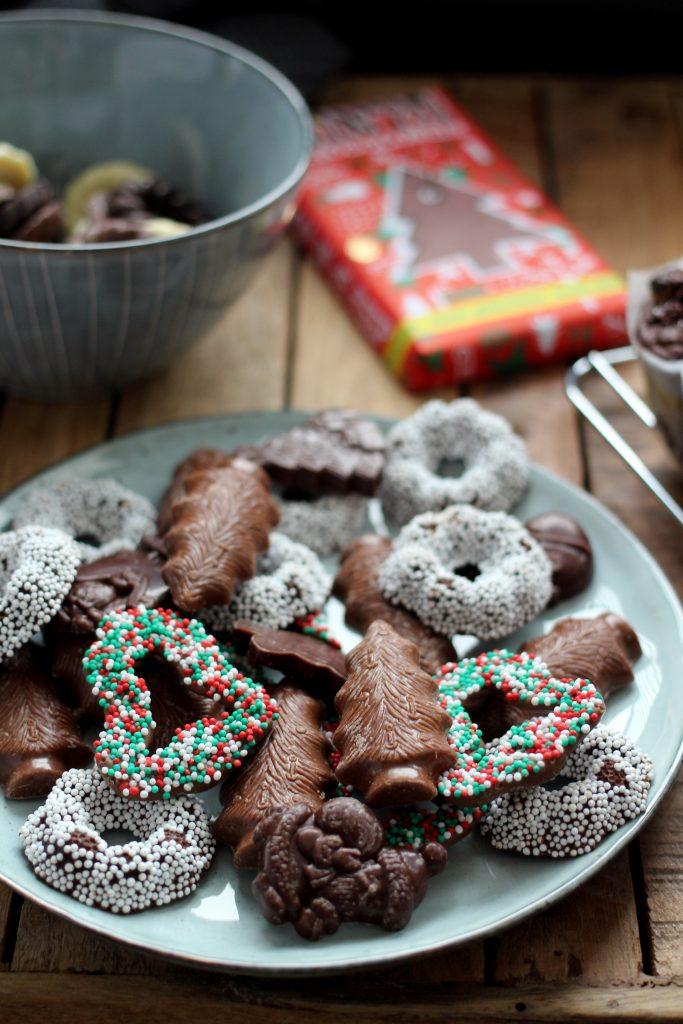 Fairtrade chocolade Kerstkransjes Max Havelaar