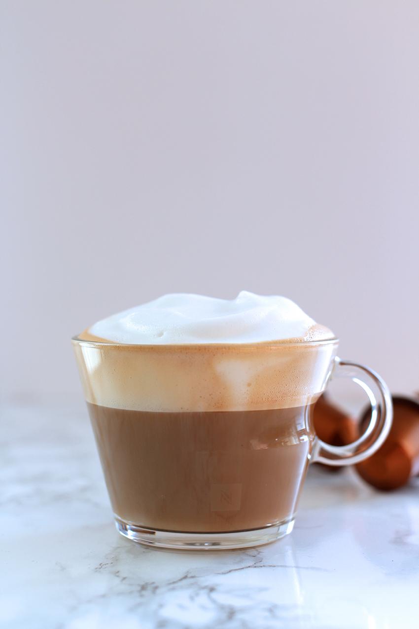 Nespresso cappuccino creatista