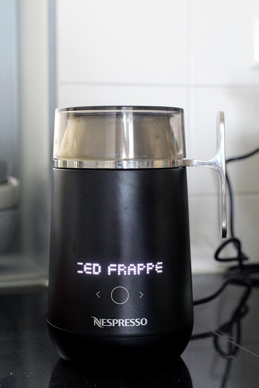 IJskoffie maken met de Nespresso Barista