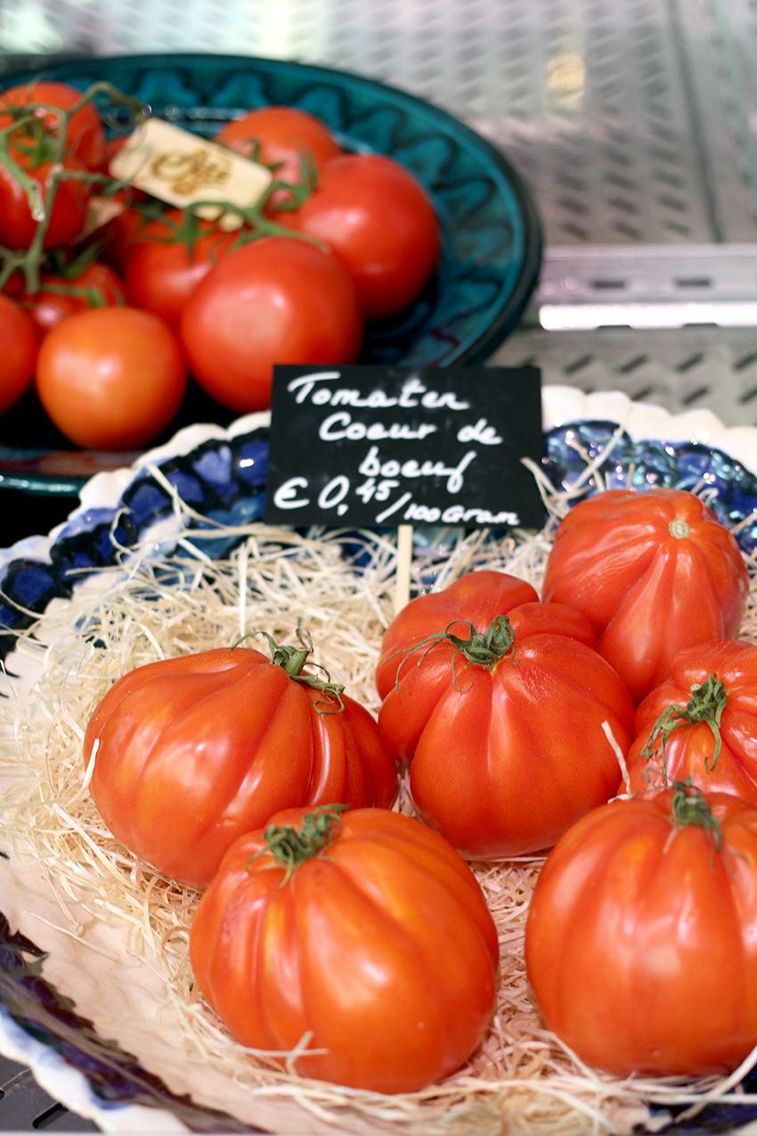 Hotspots en leuke plekken Valkenburg Maastricht: Coeuf de Boeuf Tomaten