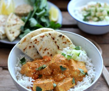 Vegetarisch tikka masala recept met tofu (tofu tikka masala)