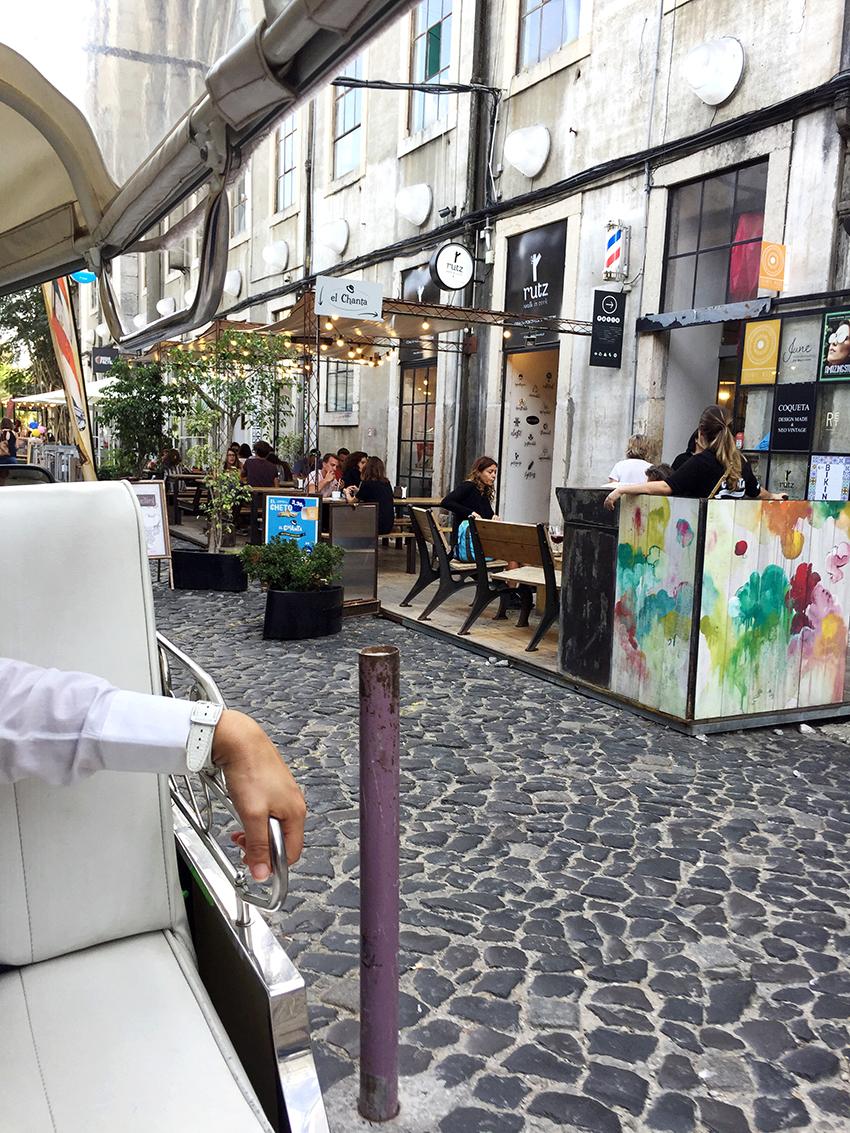 Tuk Tuk tour door Lissabon