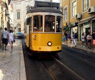 Beroemde tram 28 in Lissabon - Hotspots Lissabon