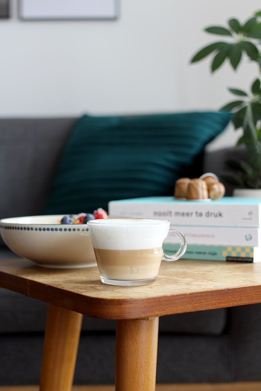 Koffie granola recept