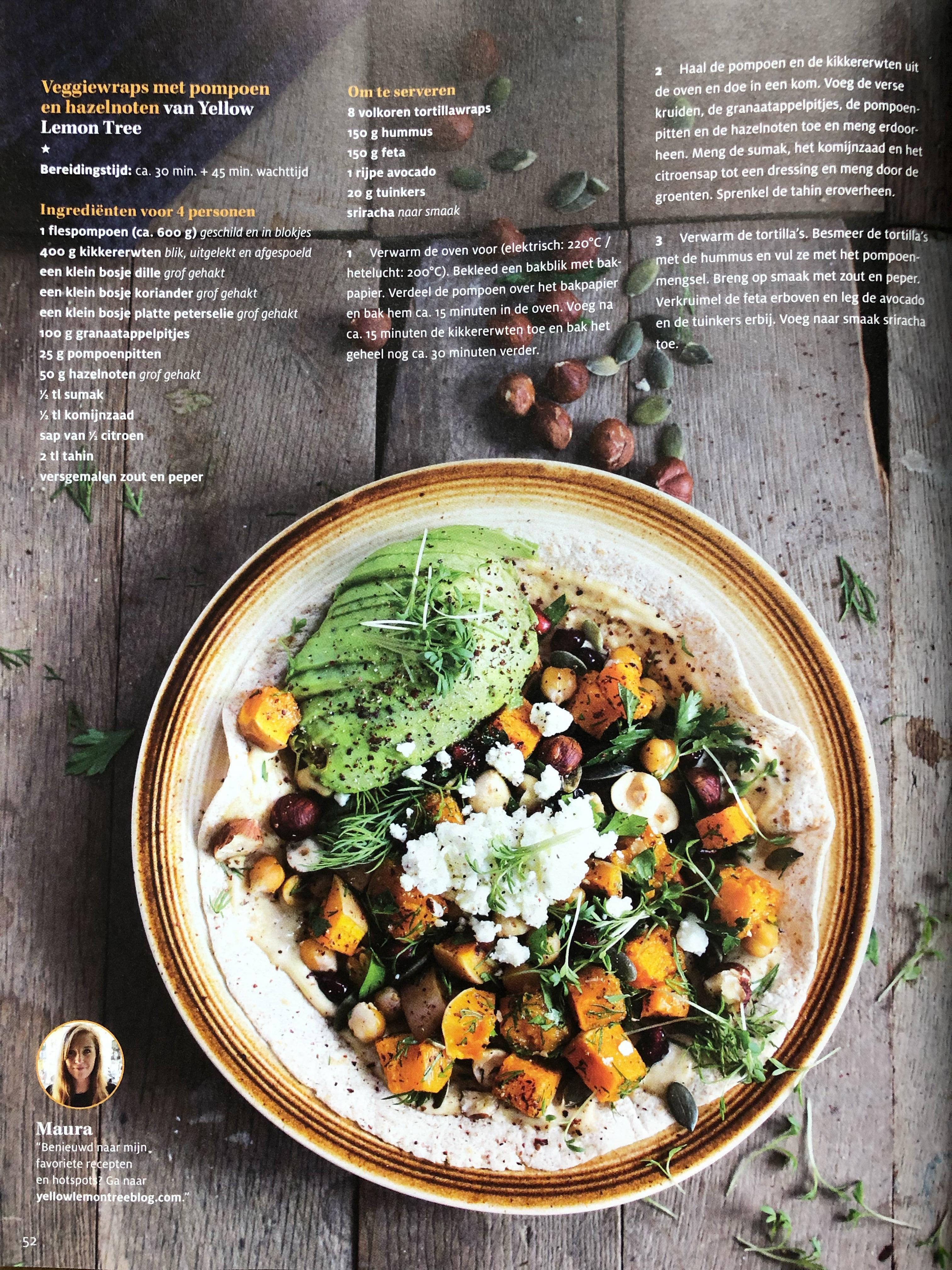 Foodies Friend: Recept in Foodies Magazine