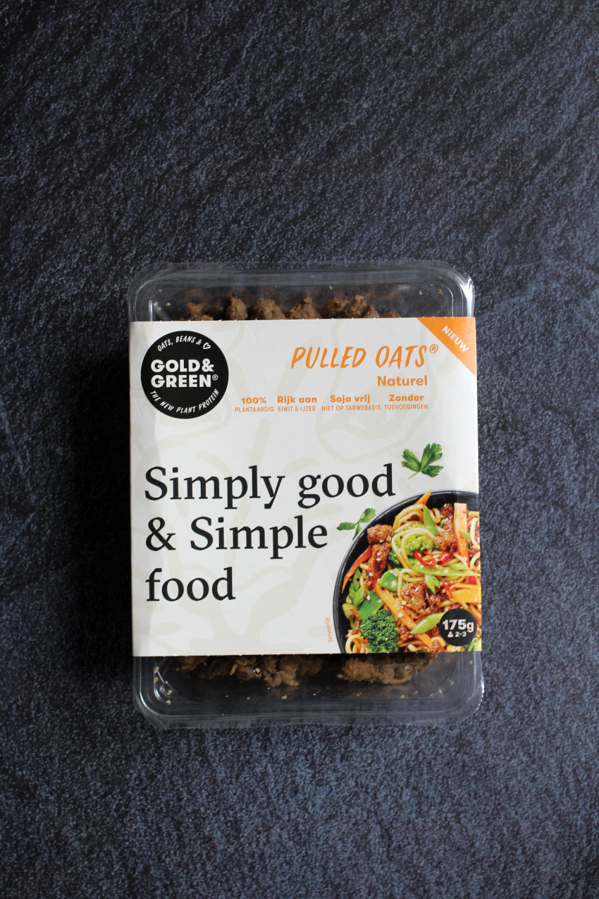 Pulled Oats - Gold & Green