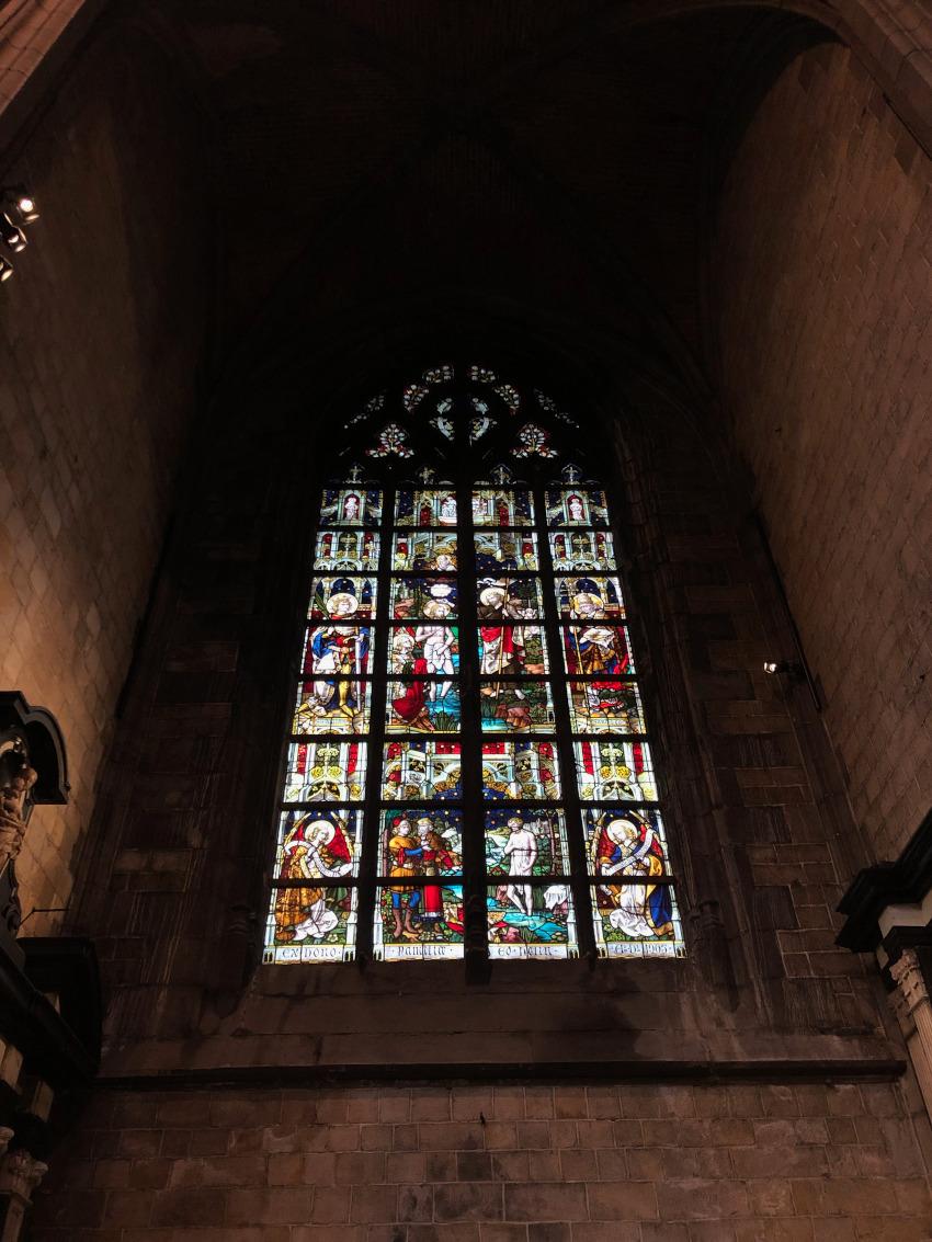 Collegiale Kerk in Mons
