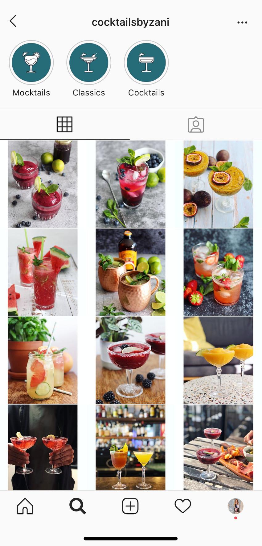 Cocktails by Zani: Instagram cocktailaccount