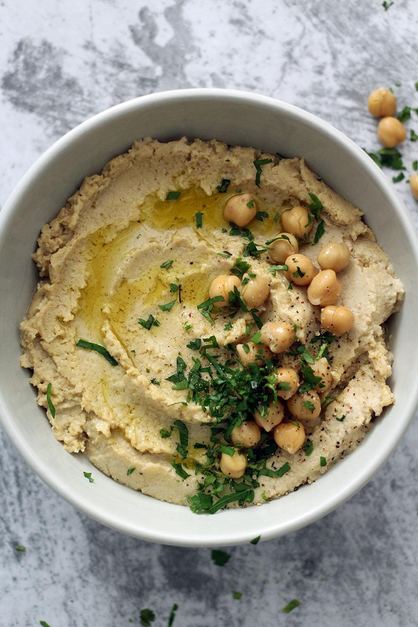 Hummus zelf maken: recept voor zelfgemaakte hummus